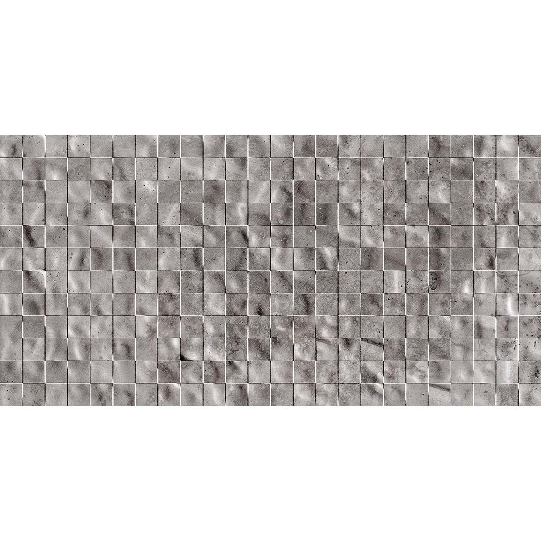 Roma Stonex Decor 30x60 Grey Gloss 1