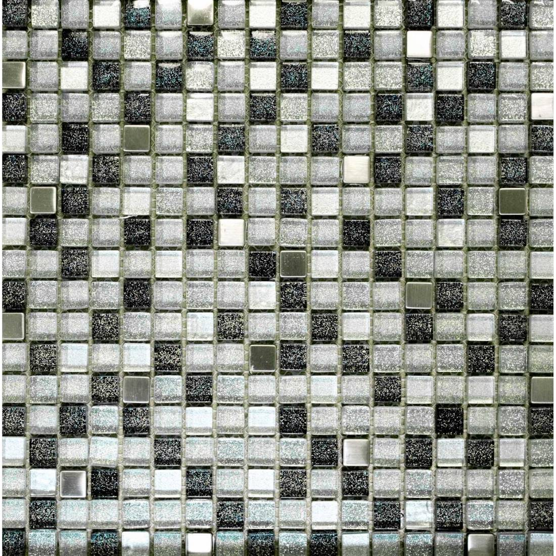 Space 30.5x30.5 Silver Gloss 1