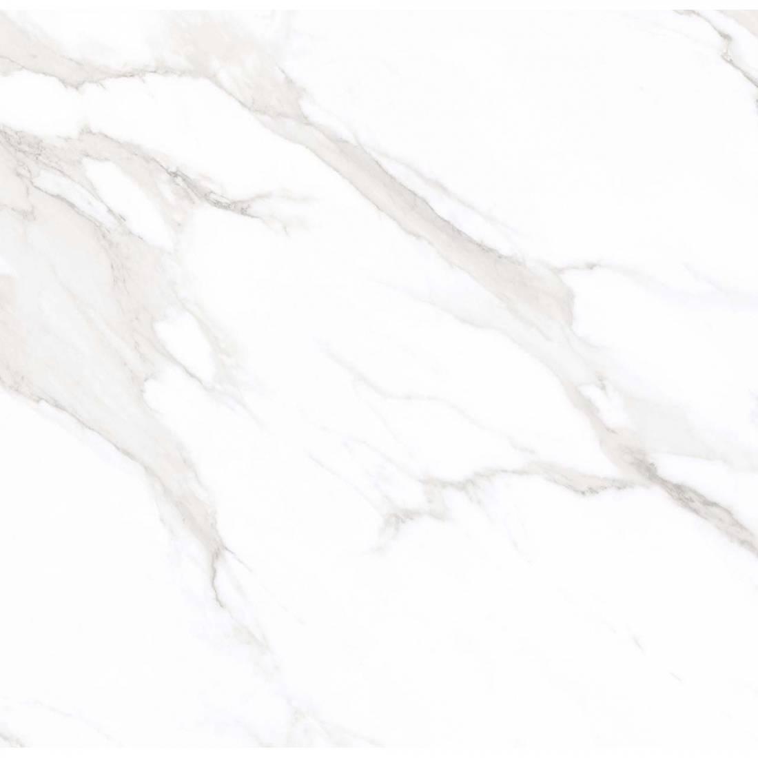 Statuario Mercury 80x80 White Polished 1