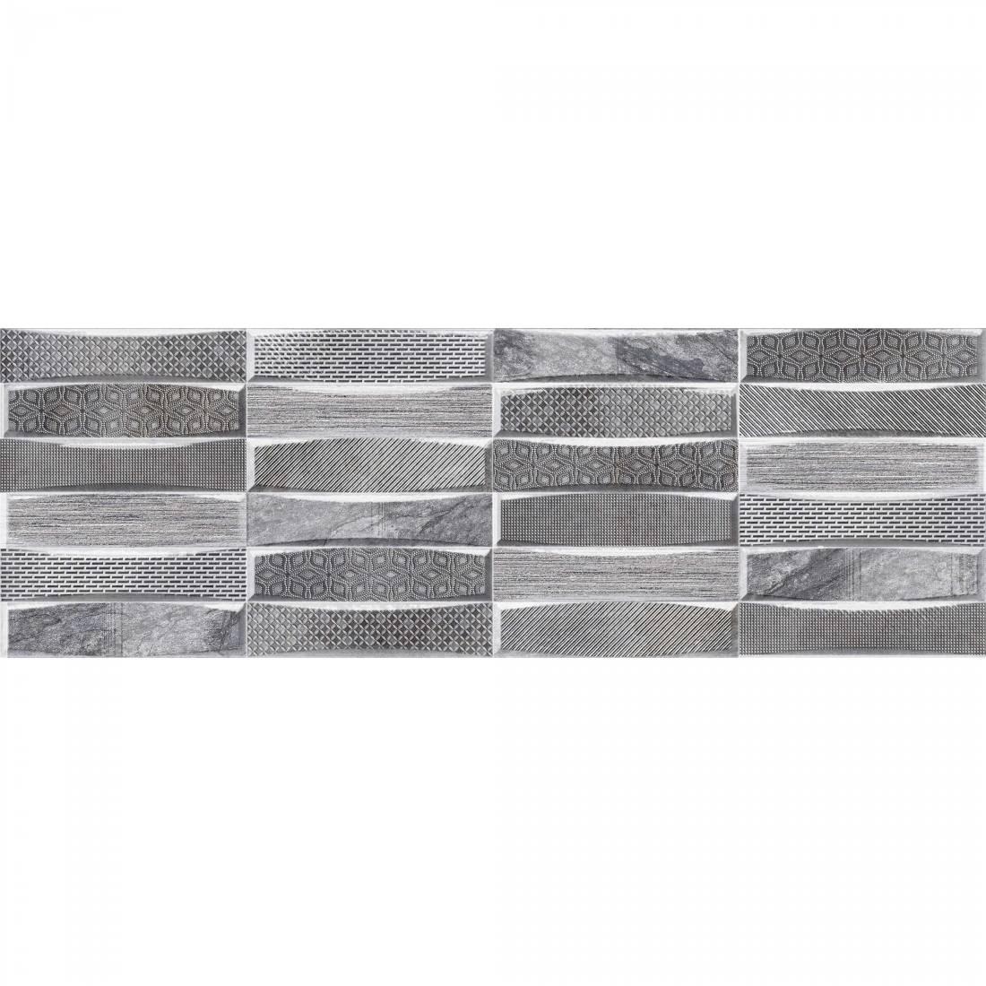 Teide 25x75 Gris Gloss 1