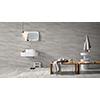 Alabastrino 60x60 Grey Gloss 3