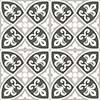 Bristol Pattern 45x45 Grey Matt