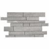 Cement No7 Mosaic 31x48 Grey Matt 1