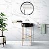 Davinci Carrara 30x30 White Gloss 4